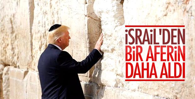 İsrail, Donald Trump'ın İran politikasından memnun