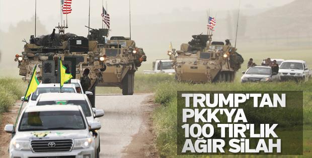 ABD terör örgütü YPG'ye silah gönderdi