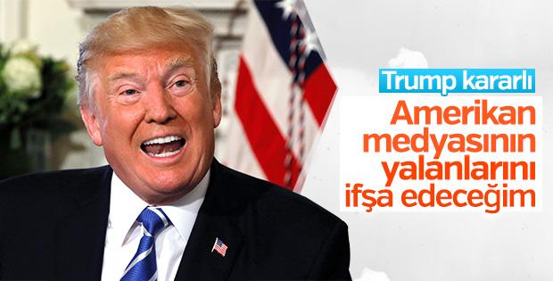 Trump'tan ABD medyasına: Yalanları ifşa etme zamanı geldi