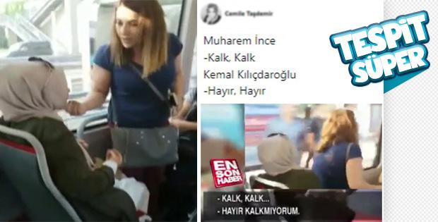 Metrobüs kavgası CHP'nin durumunu özetledi