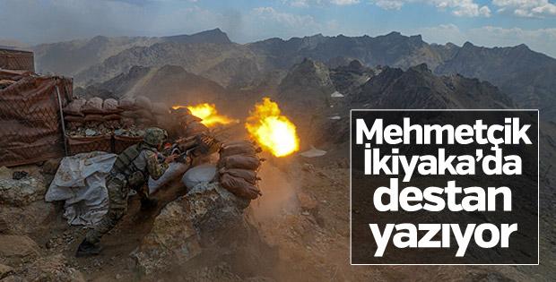 TSK İkiyaka Dağları'nda teröristlere göz açtırmıyor