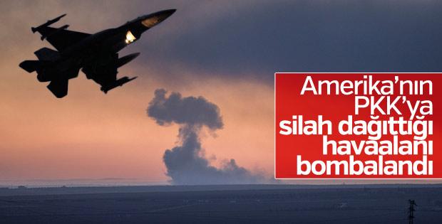 Türk F-16'ları ABD'nin kullandığı havaalanını bombalıyor