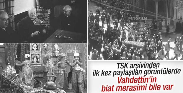 TSK 1916-1950 yıllarında çekilen filmleri paylaştı