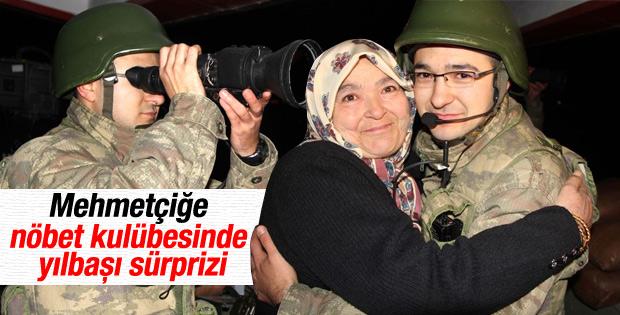 Suriye sınırındaki Mehmetçik'e yılbaşı sürprizi