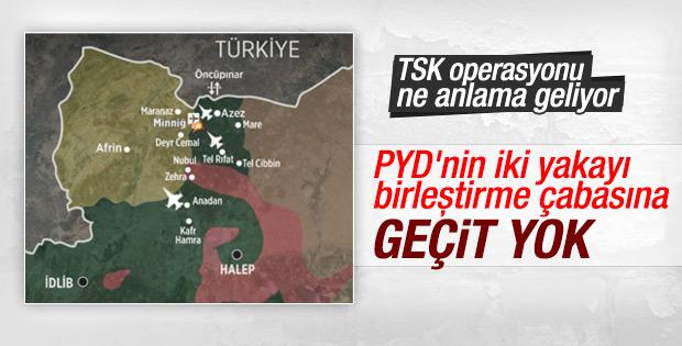TSK'dan PYD'ye büyük darbe