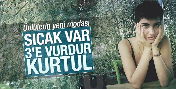 Tuba Büyüküstün'den yeni fotoğraflar