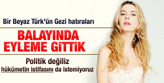 Tuba Ünsal: Balayında Gezi Parkı eylemindeydik