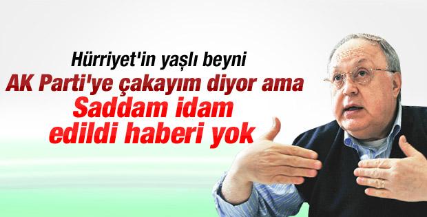 Tufan Türenç'ten ilginç Saddam tweeti