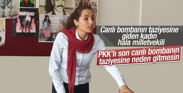 HDP'li Tuğba Hezer yine terörist cenazesine gidecek mi