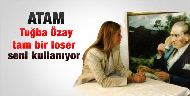 Tuğba Özay Atatürk'le röportaj yaptı