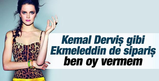 Tuğçe Kazaz: Ekmeleddin İhsanoğlu'na oy vermem İZLE