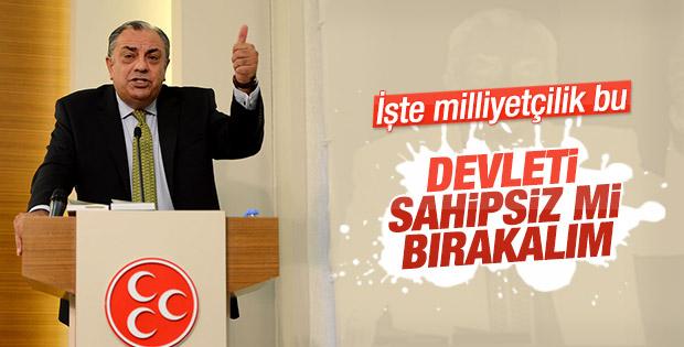 Tuğrul Türkeş kararını günler öncesinde vermişti