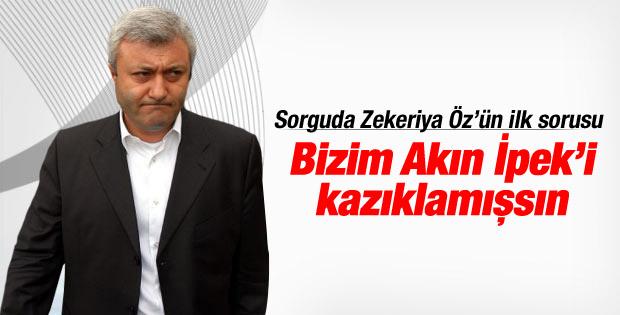 Tuncay Özkan'dan Zekeriya Öz tweeti