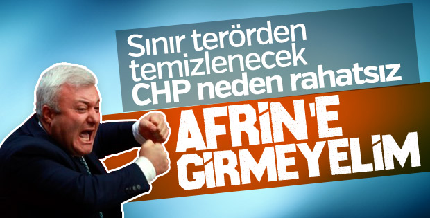 Tuncay Özkan Afrin operasyonuna karşı çıktı