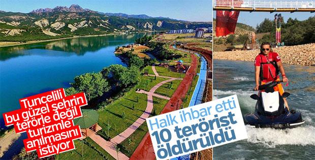 Tunceli'de 10 PKK'lı öldürüldü