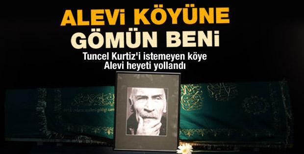 Tuncel Kurtiz'in cenazesi Alevi köyüne gömülemiyor