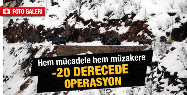 Tunceli'de -20 derecede operasyon - Galeri