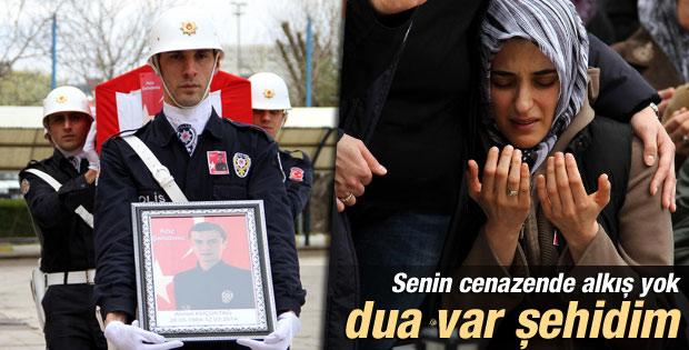 Tunceli'de şehit olan polisin cenazesi uğurlandı İZLE