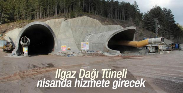 Ilgaz Dağı Tüneli'nde sona gelindi