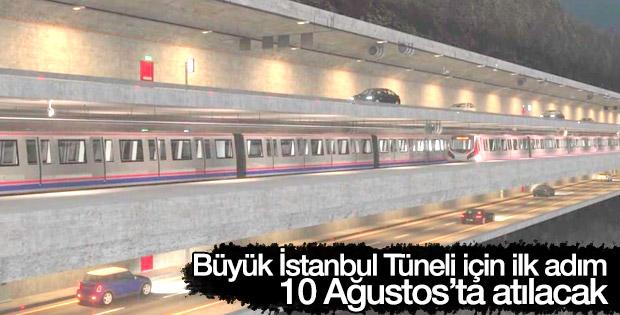 Büyük İstanbul Tüneli'nde teklifler açılıyor
