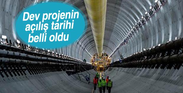Avrasya Tüneli Aralık'ta hizmete açılacak