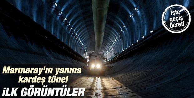 Avrasya Tünelinde 850 metreye ulaşıldı