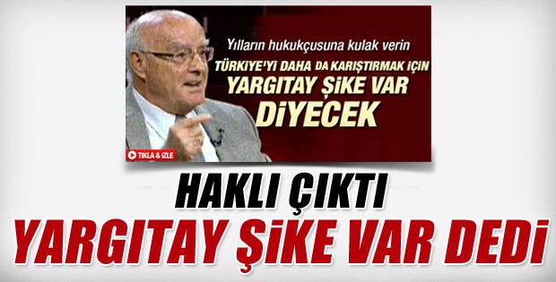 Turgut Kazan: Yargıtay şike var diyecek