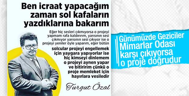 Turgut Özal ölümünün 23. yılında anıldı