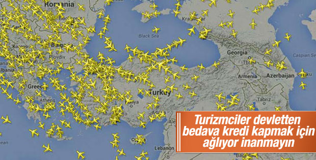 Atatürk Havalimanı'nda hava trafiği yoğunluğu