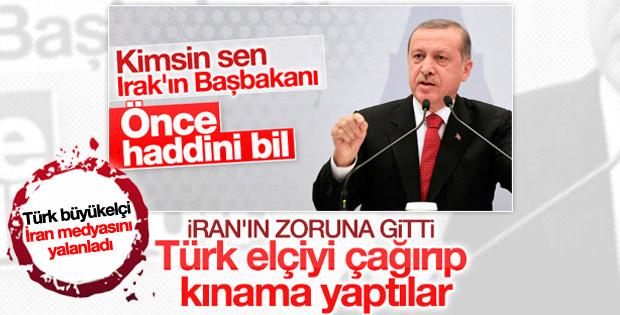 Türk Büyükelçi İran Dışişlerine çağırıldı