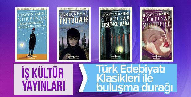 Türk Edebiyatı Klasikleri'nde yeni nefes: İş Kültür Yayınları