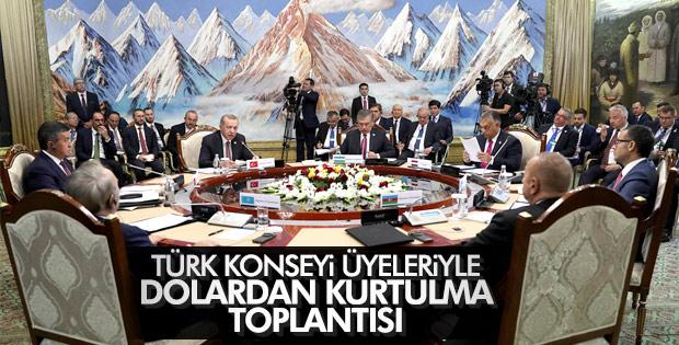 Başkan Erdoğan Kırgızistan'da