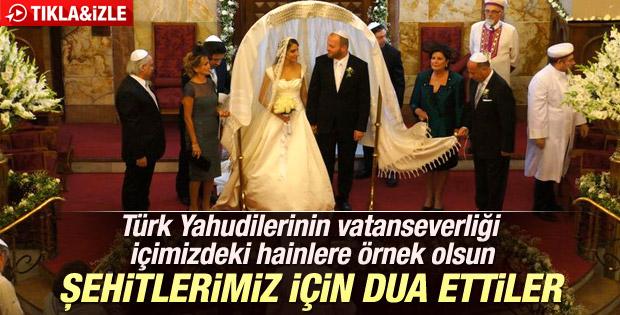Yahudi vatandaşlardan şehitler ve Erdoğan için dua - İzle