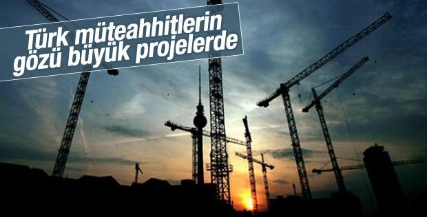 Türk müteahhitler yurt dışı projelerinde rekor kırdı