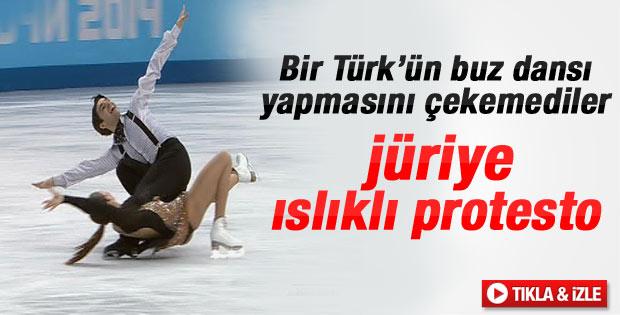 Soçi'deki Türk patenler 49,84 puan aldı - izle