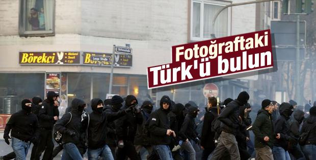 Almanya'daki eylemlerden günün fotoğrafı