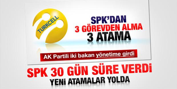 SPK'dan Turkcell'e ek süre