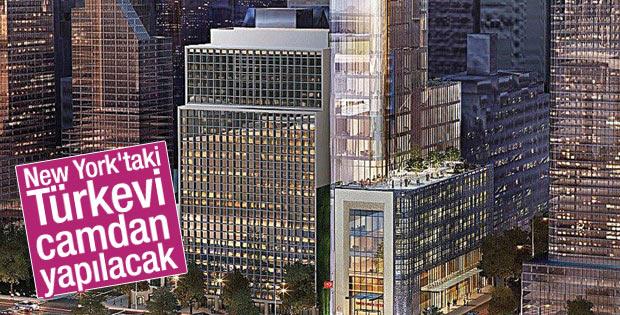 New York'taki Türkevi camdan olacak