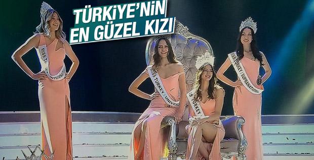 Ecem Çırpan Miss Turkey 2015 güzeli seçildi