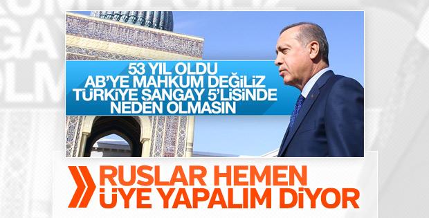 Rus politikacıdan ŞİO'ya Türkiye önerisi