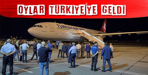 60 ülkede kullanılan oylar Ankara'da