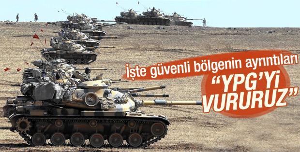 Türkiye güvenli bölge konusunda Amerika ile anlaştı