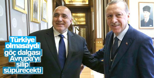Bulgaristan Başbakanı Borisov'dan Türkiye'ye övgü