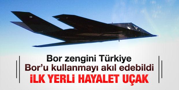 Türkiye'nin hayalet uçağı bor zırhıyla kaplanacak