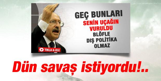 Türkiye'ye nota veren CHP sineye çekilemez de demişti