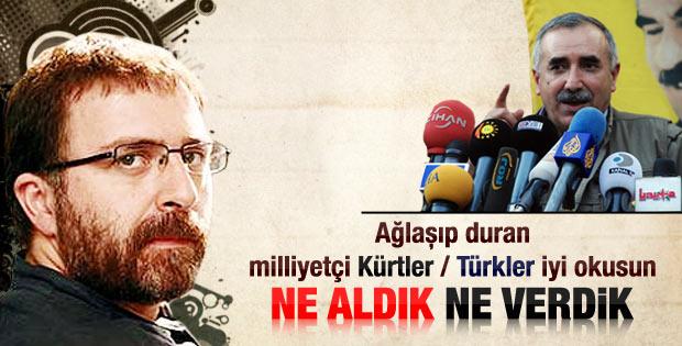 Türkler ne verdi Kürtler ne aldı