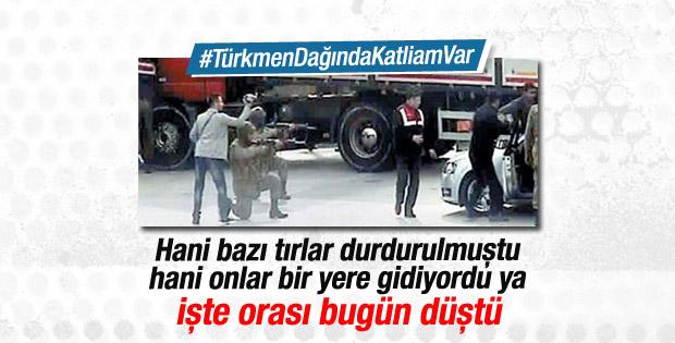 Türkmen Dağı bölgesi düştü