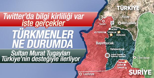 Türkmen Dağı'nda Bayırbucak'ta neler oluyor