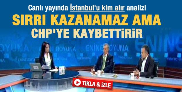 Türköne: Sırrı Süreyya CHP'ye kaybettirir - izle