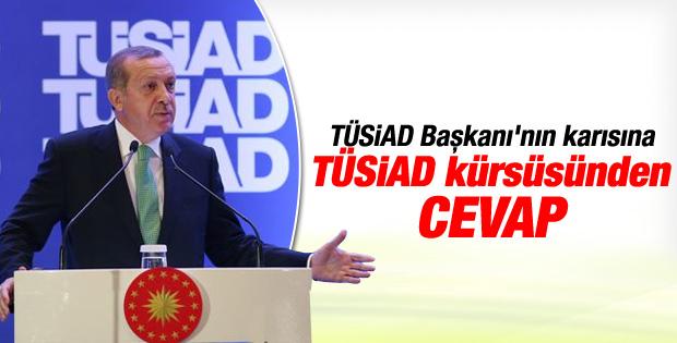 Erdoğan'dan TÜSİAD Başkanı'na cevap İZLE